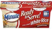 Minute Rice - Long Grain White Rice -4.4oz