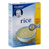 Gerber Baby Cereal - Rice 1