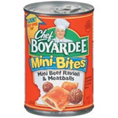 Chef Boyardee Mini Beef Ravioli & Meatballs - 15 oz