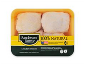 Sanderson Farms Split Chicken Breast with Ribs -2lb
