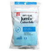 Jumbo Cotton Balls - 100 Count
