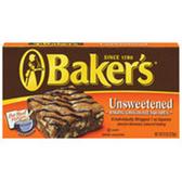 Baker's Semi Sweet Chocolate Baking Squares - 8 oz