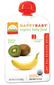 Happy Baby Organic Baby 2nd Food - Banana Kiwi