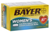 Bayer Women's Aspirin Pain Reliever/Fever Reducer Low Dose 81 mg