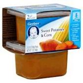 Gerber Baby 2nd Food - Sweet Potatoes