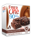 Fiber One 90 Calorie Brownies - Chocolate Fudge -6 bars