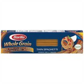 Barilla Whole Grain Thin Spaghetti Pasta - 13.25 oz
