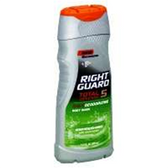 Right Guard Total Defense 5 Deodorizing Body Wash Refreshing
