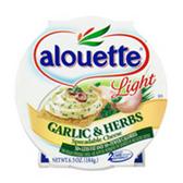 Alouette Light Garlic & Herb Spreadable Cheese -6.5 oz