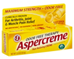 Aspercreme Odor Free Pain Relieving Creme with Aloe Maximum Stre