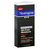 Neutrogena Men Sensitive Skin Oil-Free Moisture Spf 30 - 1.7 Fl.