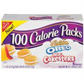 Nabisco 100 Calorie Pack Oreo Mini Cakesters -5 pk
