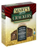 Mary Gone Crackers - Black Pepper -6.5oz