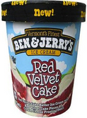 Ben & Jerry's - Red Velvet Cake -16oz