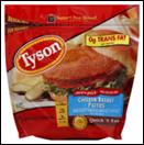 Tyson Frozen Chicken Breast Patties -26 oz