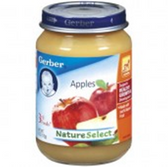 Gerber Baby 3rd Food - Apples