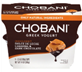 Chobani Indulgent Dulce De Leche Caramel and Dark Chocolate Gree
