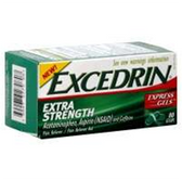 Excedrin Extra Strength Express Gels - 80 Count