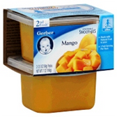 Gerber Baby 2nd Food - Mango