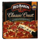 Red Baron Sausage And Pepperoni Frozen Pizza -23.1 oz