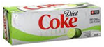 Diet Coke With Lime -12pk