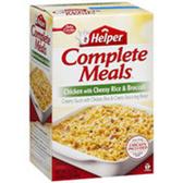 Betty Crocker Meals Chicken w/Cheesy Rice and Broccoli-5.5 oz