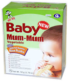 Hot Kid Baby Mum Mums Vegetable -1.76oz