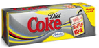 Diet Coke Fridge Pack Sweetened W/ Splenda -12pk