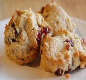 Cranberry Orange Scones -4ct