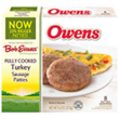Owen's Fully Cooked Turkey Sausage Patties -6ct 1
