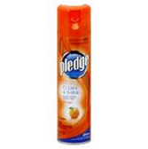 Pledge Orange Fresh Aerosol Furniture Polish -12.5 oz