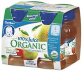 Gerber Pear Juice -4/4oz