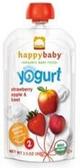 Happy Baby Greek Yogurt - Strawberry Apple & Beets -3.5oz