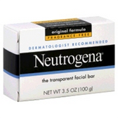 Neutrogena Unscented Facial Bar - 3.5 Oz