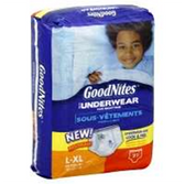 GoodNites Underwear Boy L-XL
