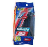 Gillette Good News Plus Razors - 12 Count