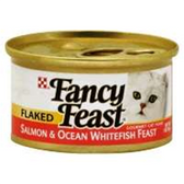 Fancy Feast Cat Food Flaked Salmon And Oceanfish - 3 Oz