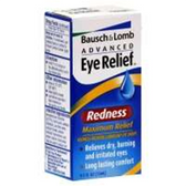 Bausch and Lomb Redness Reliever Lubricant Eye Drops - .5 Fl. Oz