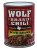 Wolf Chili with Beans, 19 OZ