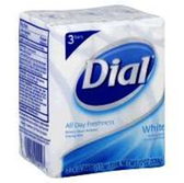 Dial White Bath Bar Soap - 3-4.5 Oz