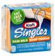 Kraft Singles Nonfat Skim Milk Sharp Cheddar Cheese -16ct