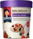 Quaker Real Medley's - Summer Berry Oatmeal -2.64oz