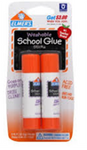 Elmer School Glue Stick -2ct
