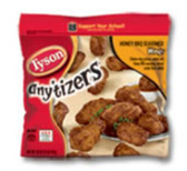 Tyson Frozen Anytizers Honey BBQ Chicken Wings-25.5 oz