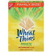 Nabisco Wheat Thins Reduced Fat Crackers-8.5 oz
