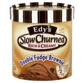 Dreyers/Edys Grand Slow Churned DoubleFudge Brownie IceCream-1.5