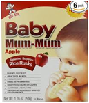 Hot Kid Baby Mum Mums Apple Rice Rusks -1.76oz