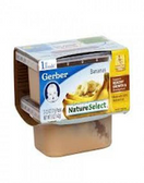 Gerber All-Natural - Banana -2ct