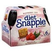 Snapple Diet Raspberry Iced Tea -6 pk
