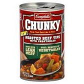 Campbell's Chunky Soup Beef Tips With Vegetables - 10.75 oz